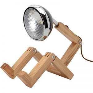 lampe de bureau bois et metal TOP 2 image 0 produit