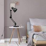 Lampe de Bureau, Brilex Classique Noir Lampe de Bureau 5W Lampe de Table LED Luminosité Élevée Luminosité Ajustable USB pour le Bureau de Chambre à Coucher et plus. de la marque Brilex image 4 produit
