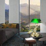 Lampe de bureau des lampe banquiers de la lampe antique table rétro nostalgique en vert antique 2491 K de la marque GLOBO LIGHTING image 1 produit