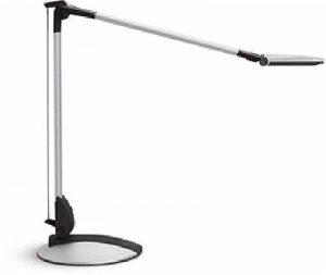 Lampe de bureau lED argent mAULoptimus, classe énergétique a, avec socle de la marque MAUL image 0 produit