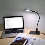 Lampe de Bureau LED Noir Flexible Metal Lampe de Chevet a Poser de Table Dimmable Tactile 5W LED Dimmable 3 Luminosité Éclairage Blanc Froid 5000K de Enuotek de la marque ENUOTEK image 4 produit