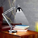 Lampe de bureau à LED ''Retro-design'' de la marque Lunartec image 1 produit