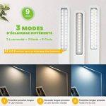 Lampe de Bureau LED, TOPELEK 42 LED Lampe de Chevet Tactile Flexible avec Adaptateur Chargeur USB 3 Modes de Couleur & 3 Niveaux de Luminosité Soin des Yeux Lampe de Table pour Travail, Lecture, Etudes - Blanc de la marque TOPELEK image 3 produit