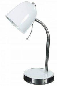 Lampe de bureau multipositions blanc - 116158 de la marque jja image 0 produit