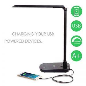 lampe de bureau port usb TOP 5 image 0 produit