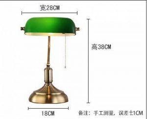 lampe de bureau rétro verte TOP 4 image 0 produit