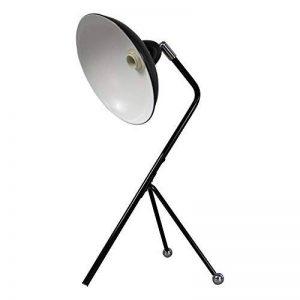Lampe de bureau / trépied - Cadre en métal, E14 Max 40W - Grandes décorations pour chevet, salon, bureau et dortoir de la marque FADACI image 0 produit
