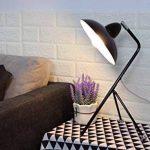 Lampe de bureau / trépied - Cadre en métal, E14 Max 40W - Grandes décorations pour chevet, salon, bureau et dortoir de la marque FADACI image 3 produit