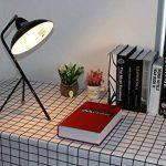 Lampe de bureau / trépied - Cadre en métal, E14 Max 40W - Grandes décorations pour chevet, salon, bureau et dortoir de la marque FADACI image 4 produit