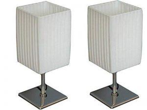 lampe de chevet abat jour rectangulaire TOP 4 image 0 produit