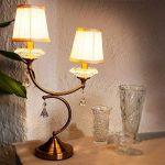 lampe de chevet avec pied en verre TOP 3 image 1 produit