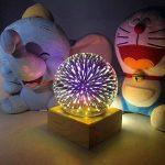 lampe de chevet avec pied en verre TOP 8 image 3 produit