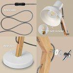 lampe de chevet bois design TOP 2 image 1 produit