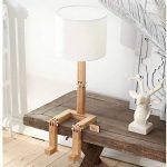 lampe de chevet bois et blanc TOP 11 image 3 produit