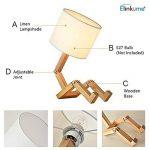 lampe de chevet bois et blanc TOP 11 image 4 produit