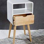 lampe de chevet bois et blanc TOP 3 image 2 produit