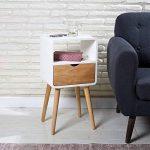 lampe de chevet bois et blanc TOP 3 image 3 produit