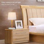 lampe de chevet bois et blanc TOP 6 image 1 produit