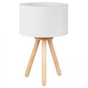 lampe de chevet bois et blanc TOP 9 image 0 produit