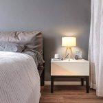 lampe de chevet bois et blanc TOP 9 image 4 produit