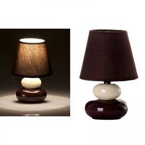 Lampe de chevet de création Céramique Marron moderne pour chambre à coucher-Bretagne de la marque d'casa image 0 produit