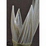 Lampe de chevet ethnique chic en feuilles de cocotier. fabrication artisanale. de la marque Artisanal image 3 produit