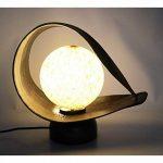 Lampe de chevet ethnique en feuilles de cocotier. Décoration Zen chambre à coucher. de la marque Artisanal image 4 produit