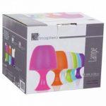 Lampe de chevet forme champignon - violet de la marque Atmosphera image 1 produit