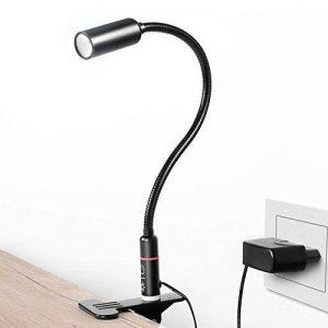 lampe de lecture clipsable TOP 14 image 0 produit