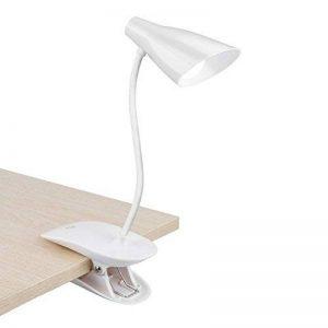 Lampe de lecture LED, Rusee Lampe de Bureau à Pince, 3 Niveaux de Luminosité au Choix - Blanc de la marque Rusee image 0 produit