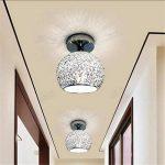 Lampe de plafond moderne Mini lampe de plafond avec teinte en aluminium pour couloir, couloir, allée, escalier, chambre à coucher Voltage: 111V ~ 240V (inclus) (Energy A ++) , White-6.7-5.9 inch de la marque ZHL image 1 produit