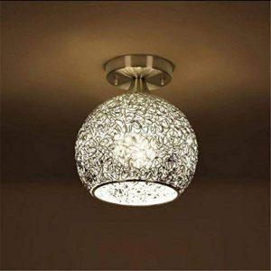 Lampe de plafond moderne Mini lampe de plafond avec teinte en aluminium pour couloir, couloir, allée, escalier, chambre à coucher Voltage: 111V ~ 240V (inclus) (Energy A ++) , White-6.7-5.9 inch de la marque ZHL image 0 produit