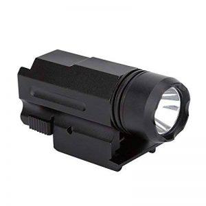 Lampe de Poche Tactique Verte à LED,Lampe Torche de Chasse à 3 Modes avec Montage sur Rail DE 20 mm de la marque Aramox image 0 produit