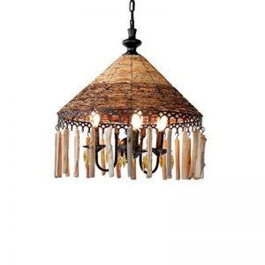 Lampe de rotin de salon de restaurant de lustre de rotin520 millimètres X1060 millimètre pour salon salle à manger hôtel de la marque ZHA image 0 produit