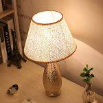 Lampe de table décorée en art doré HALORI salon chambre salle d'étude évier lampe de chevet E27 lampadaire en céramique lampe en PVC (or) de la marque HALORI image 2 produit