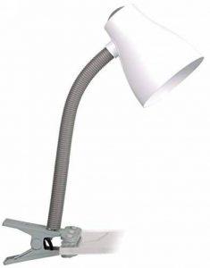 Lampe de table Smartwares 6000.631 Manou – Raccord ES/E27 – Raccord flexible – Gris et blanc de la marque RANEX image 0 produit