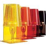 Lampe de Table Take par Kartell (H30cm x W18.5cm Rouge) de la marque Kartell image 3 produit