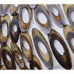Lampe exotique motif Yin Yang nacre et bambou de la marque Artisanal image 2 produit