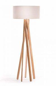lampe haute sur pied en bois TOP 1 image 0 produit