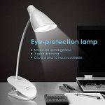 Lampe LED de Bureau KASIMO Led Lampe de Chevet Avec 3 Niveaux de Luminosité Flexible 360°/Protection des yeux de la marque KSIMO image 1 produit