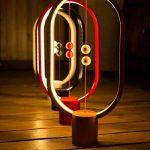 Lampe LED Heng - Idéale pour le salon ou la chambre - Port USB - Lumière blanche chaude, Noir 5.00W de la marque DesignNest by Allocacoc image 3 produit