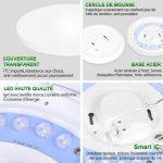 lampe led pour plafond TOP 14 image 1 produit