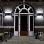 Lampe Murale LED 8W Moderne Appliques Murales IP65 Étanche Applique Luminaire En Aluminium Up Down Décoratif Spot Lumière Nuit Lampe pour Salon Chambre Hall Escalier Pathway (Blanc froid) de la marque SOBROVO image 3 produit