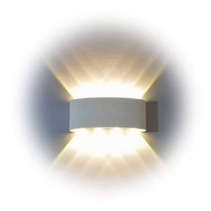 Lampe Murale LED, PHOEWON 8w Moderne Aluminium LED Applique Murale Interieur Éclairage Mural, Applique Murale Lumières pour Cuisine Escalier Chambre Couloir, les Lampes de Nuit de la marque PHOEWON image 0 produit