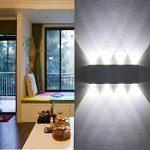Lampe Murale LED, Phoewon 8w Moderne Aluminium LED Applique Murale Interieur Éclairage Mural, Applique Murale Lumières pour Cuisine Escalier Chambre Couloir Salon, les Lampes de Nuit (Blanc Froid) de la marque PHOEWON image 3 produit