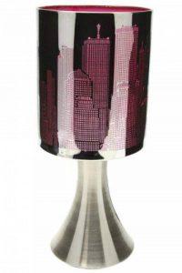 Lampe New York Tactile sans interrupteur - 3 intensités lumineuses - Rose de la marque Générique image 0 produit
