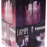 Lampe New York Tactile sans interrupteur - 3 intensités lumineuses - Violet de la marque Générique image 1 produit
