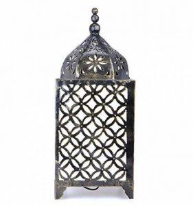 Lampe orientale H45cm en fer forgé, artisanat marocain de la marque Artisanal image 0 produit