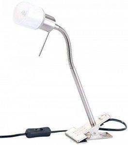 Lampe à pince avec col de cygne pour ampoules G9 de la marque Lunartec image 0 produit