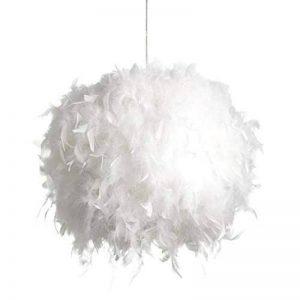 Lampe Plume Plafond Lustre Suspension Plume moderne pour salon chambre restaurant cuisine etc-E27 40W de la marque RUNFON image 0 produit